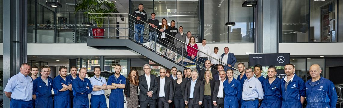 Equipe concession Mercedes-Benz Clermont-Ferrand
